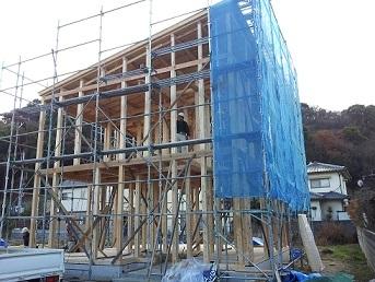 吉村住工 外張り断熱の家の完成まで