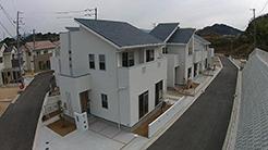 ミツワ都市開発|ジョイフル山西テラスに建つ純白の家